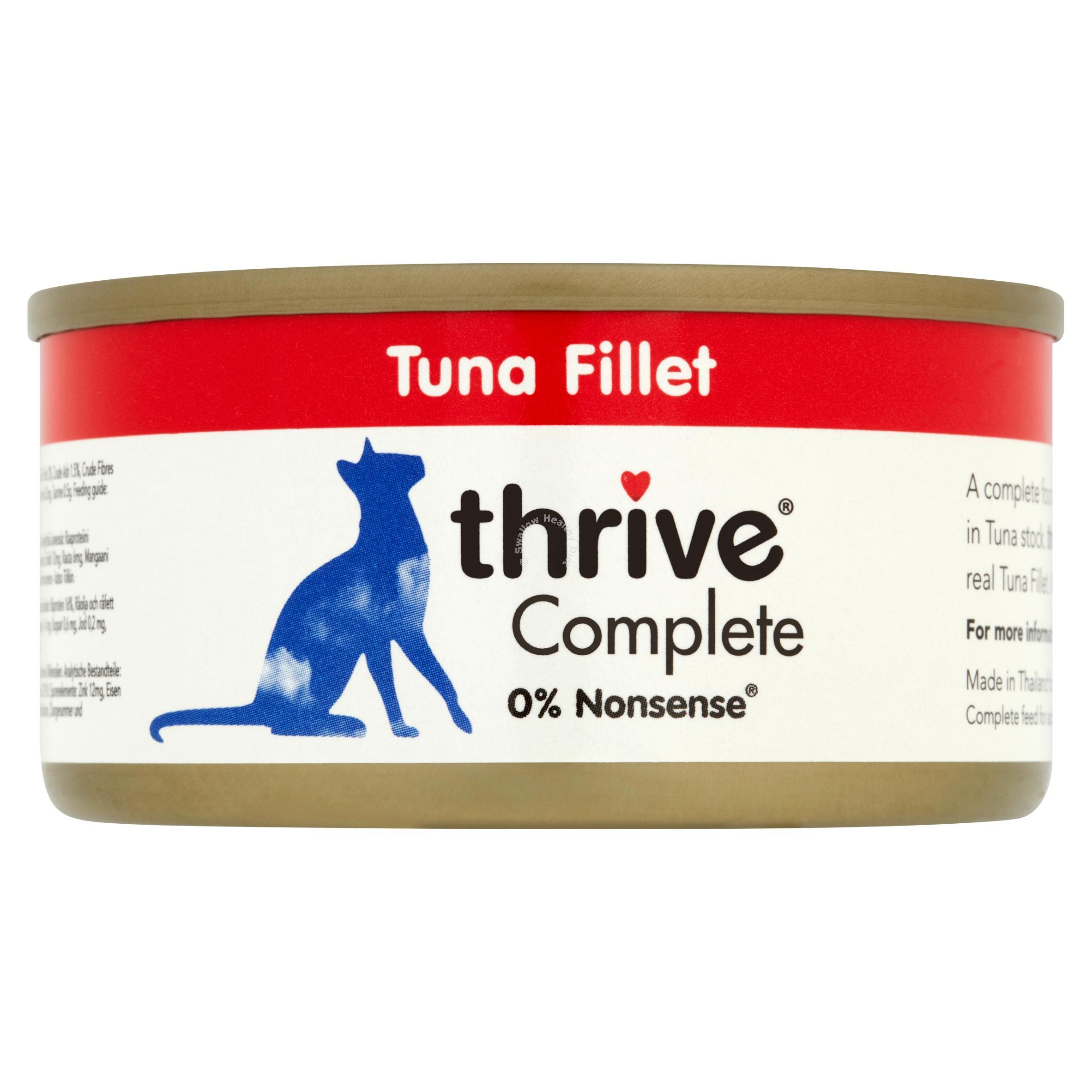 PET-Project-Thrive-completa-cibo-per-gatti-100-vera-carne-pesce-12x-75g-TIN-umido-naturale